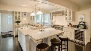 Catherine Zeta Jones & Michael Douglas' Kitchen