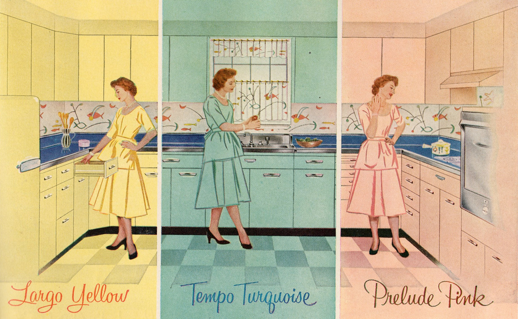Top Tips For Creating A Retro 1950s Style Kitchen Design