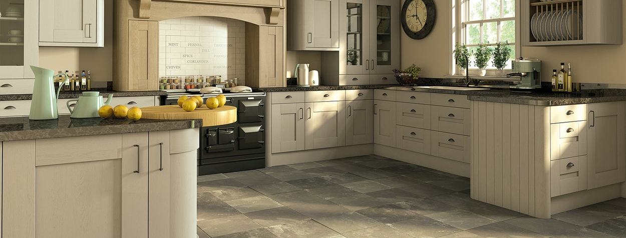 Wilton Odessa Oak effect kitchen cupboard doors