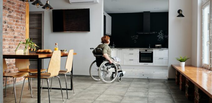 wheelchair access kitchen