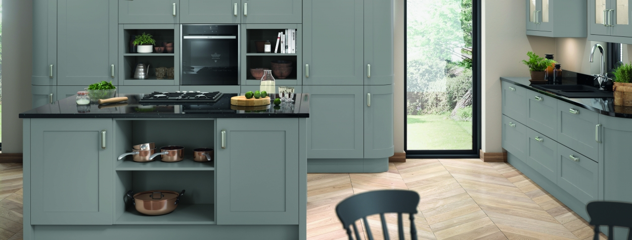 Oxford Painted Shaker Dust Grey