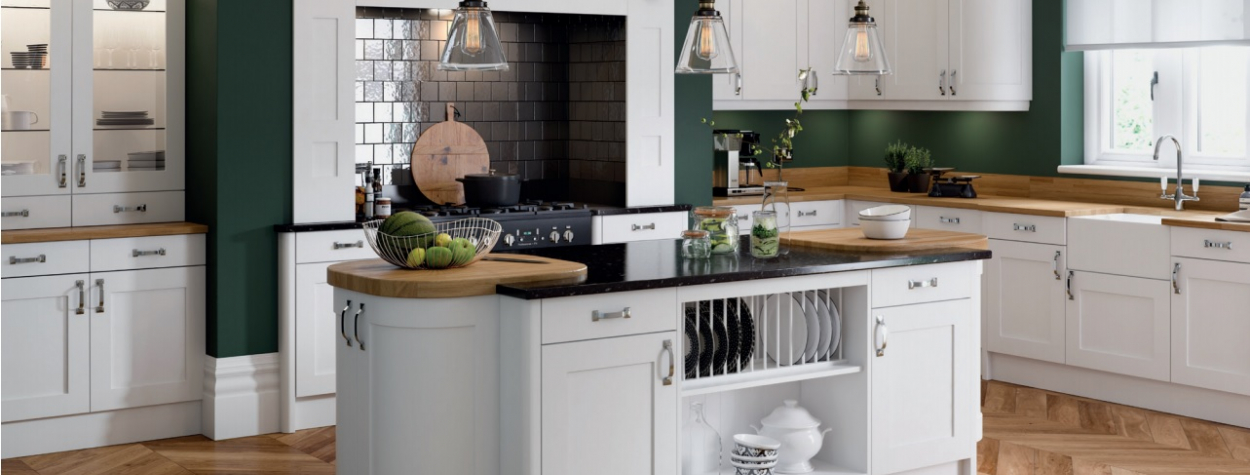 Oxford Painted Shaker White (Delivered within 2-3 Working Days)
