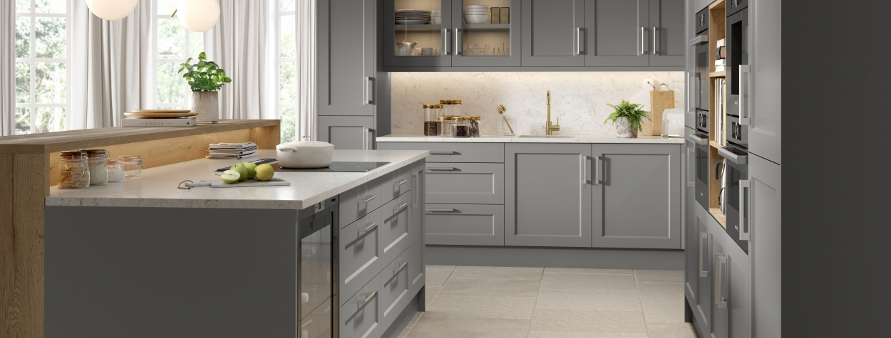 Richmond Gloss Dust Grey (Delivered within 10-14 Working Days)