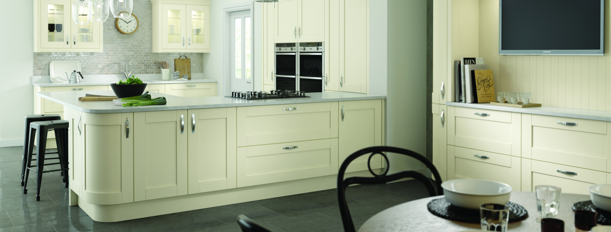 Cambridge Ivory Painted Wood (Delivered within 2-3 Working Days)
