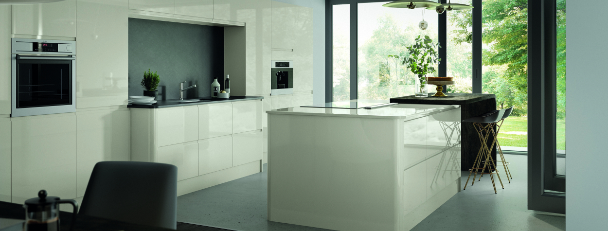 Luc Handleless Gloss Porcelain