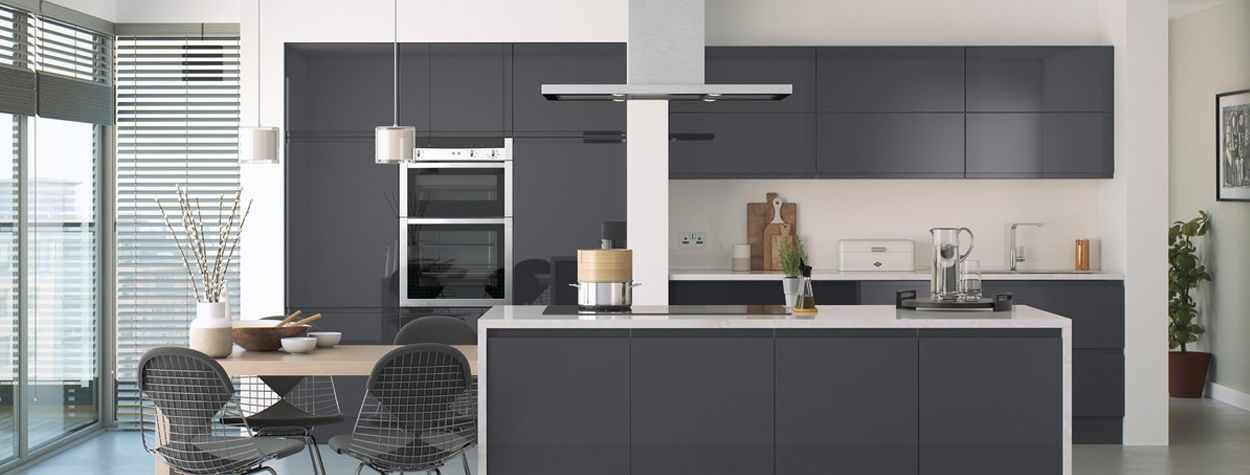 Lucente Handleless Gloss Anthracite