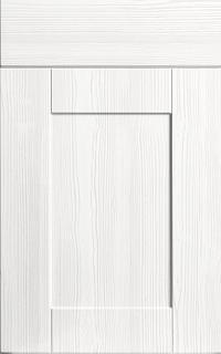 Shaker Opengrain White