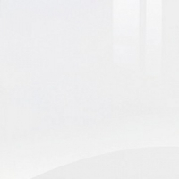 Acrylic Square Edged Gloss Glacier White