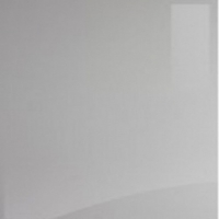Acrylic Square Edged Gloss Light Grey