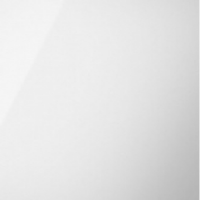Acrylic Square Edged Gloss White