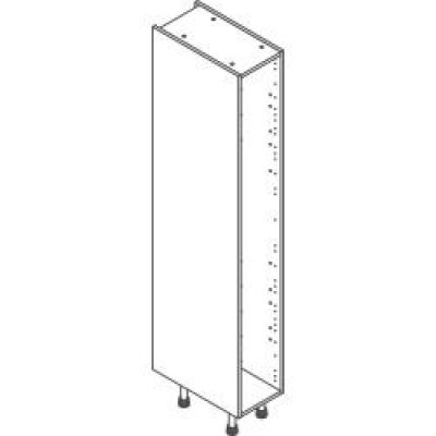White Clicbox 300 Extra Tall Larder Unit (2150h excluding legs)