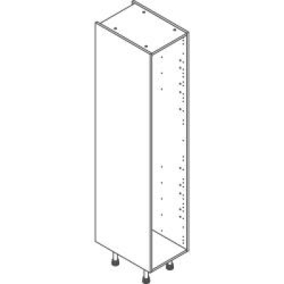 White Clicbox 400 Extra Tall Larder Unit (2150h excluding legs)