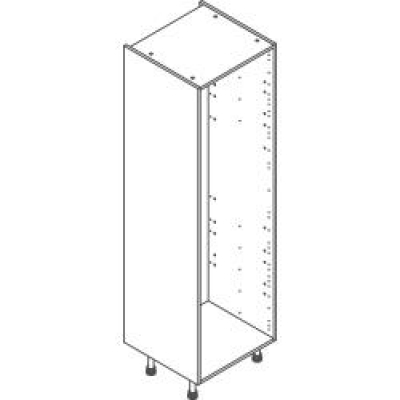 White Clicbox 600 Extra Tall Larder Unit (2150h excluding legs)