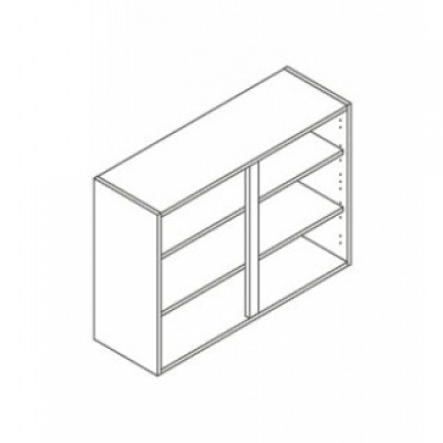 White ClicBox 1000 Wall Unit