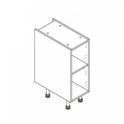 White ClicBox 300 Base Unit Door/Drawer line