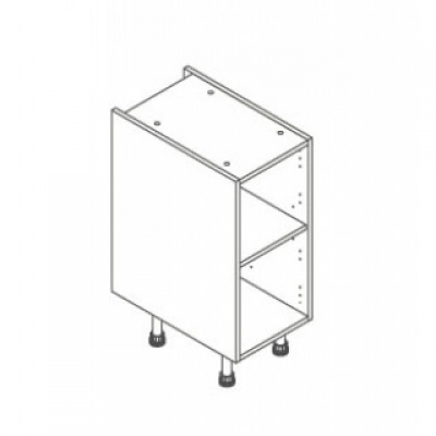 White ClicBox 350 Base Unit Door/Drawer line