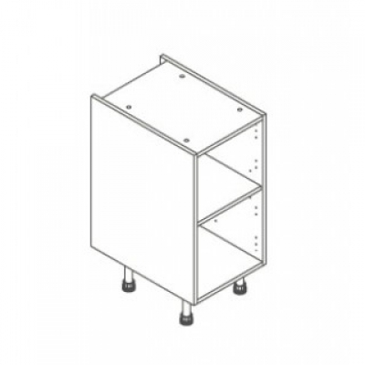 White ClicBox 400 Base Unit Door/Drawer line