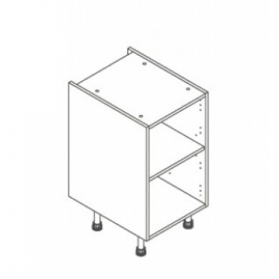 White ClicBox 450 Base Unit Door/Drawer line