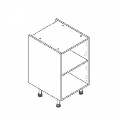 White ClicBox 500 Base Unit Door/Drawer line