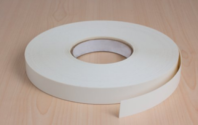 Wilton Oakgrain White Pre Glued Edging Tape 22mm x 50 M L