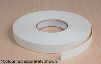 Firbeck Matt White Pre-Glued Edging Tape