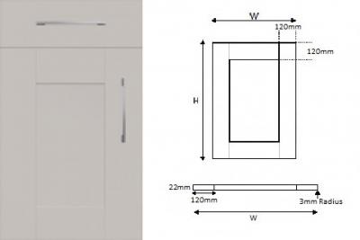 5-Piece Handpainted Shaker Cashmere