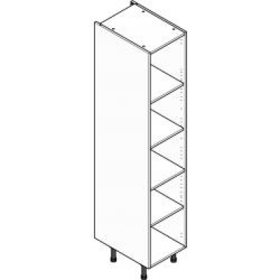 Grey ClicBox 400 Larder Unit (Shelving Pack Included)