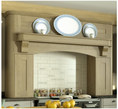 Wilton Odessa Oak Effect Mantle Kit