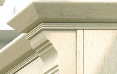 Wilton Oakgrain Cream Trim Rail