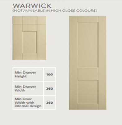 Warwick (Made to Measure in 10-14 Days)