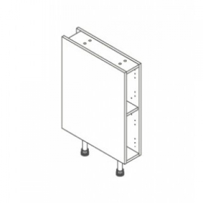 White ClicBox 150 Base Unit Door/Drawer line
