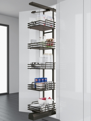 Gun Metal 500mm Pantry Unit