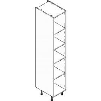 Grey Clicbox 400 Extra Tall Larder Unit (Shelving Pack Included)
