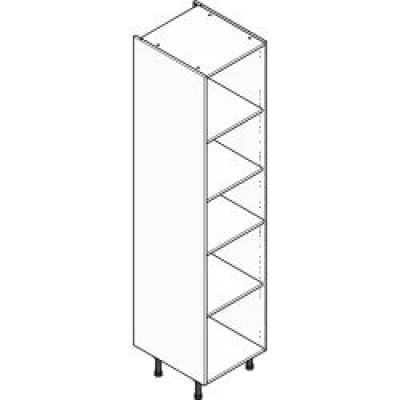 Grey Clicbox 500 Extra Tall Larder Unit (Shelving Pack Included)