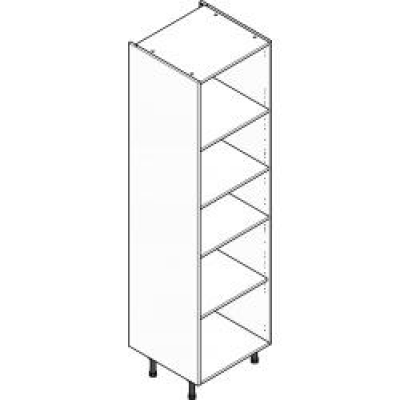 Grey Clicbox 600 Extra Tall Larder Unit (Shelving Pack Included)
