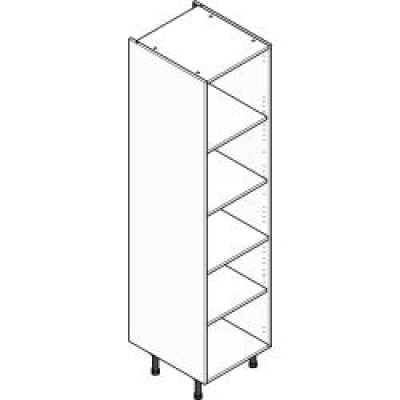 Grey ClicBox 500 Larder Unit (Shelving Pack Included)