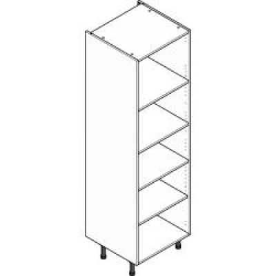 Grey ClicBox 600 Larder Unit (Shelving Pack Included)