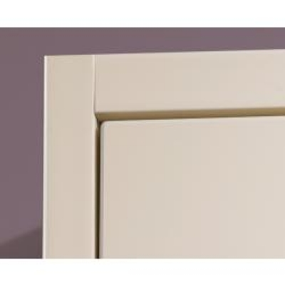 Porcelain White Shaker Multi-Purpose Rail