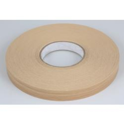 High Gloss Cream Ashford Preglued Edging Tape 22mm x 50M